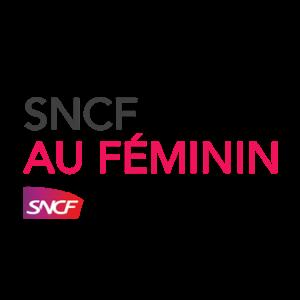 Logo SNCF au Féminin